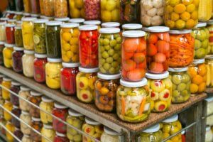 Canned food-grade additives